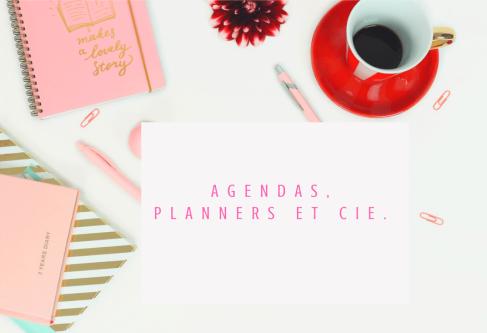 Agendas, planners et cie.